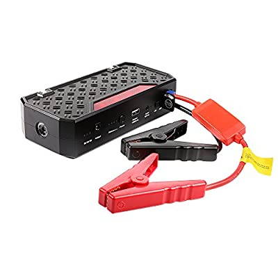 Topdon T01 Portable Jump Starter, 18000mAh with 600A Peak - Emergency Car Jump Starter Power Bank Compact Auto Battery Booster for Cars and Trucks up to 5L Gas and 3.5L Diesel Engine