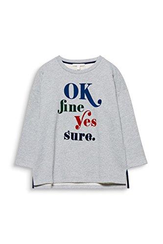 Esprit gris Moyen Femme shirt 039 Sweat Gris 5 qAFn7