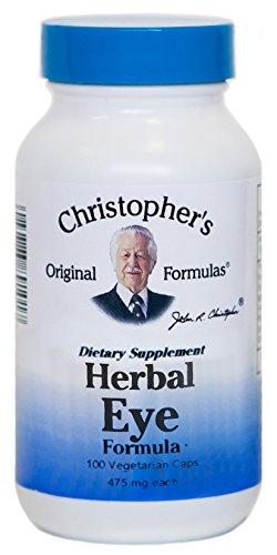 Dr. Christopher's Original Formulas Herbal Eyebright Formula Capsules, 100 Count
