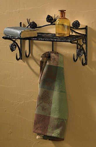 Towel Racks Cabin - Park Designs Pine Lodge Shelf