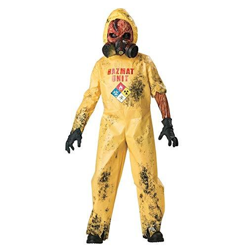 InCharacter Hazmat Hazard Child Costume - Large, Yellow, Large 10]()