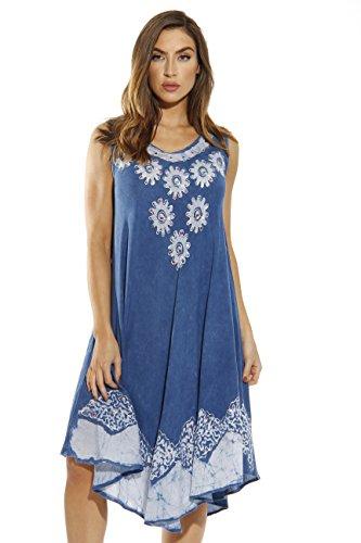 Riviera Sun Dress / Dresses for Women,Denim / ()