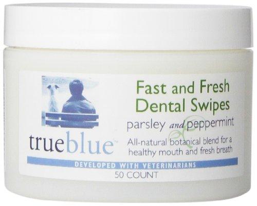 Dental Rinse (TrueBlue Fast and Fresh Dental Swipes, 50 Count)