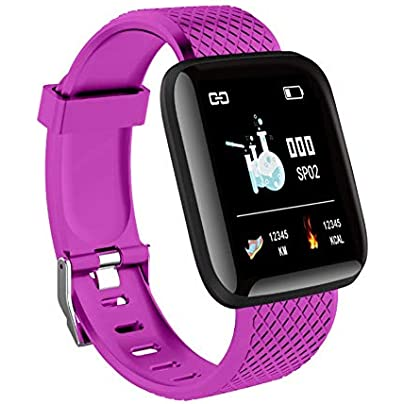 Leezo 116plus Color Screen Smart Wristband D13 Real-time Heart Rate 1 3 Inch Large Screen Blood Pressure Sleep IP67 Waterproof Smart Wristband Estimated Price £9.00 -