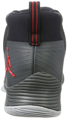Ultra Jordan black Homme Red Basketball university 2 anthracite De Fly Chaussures Noir Nike 5AWxpawn4a