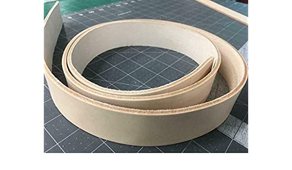 1x12 Leather Strap Natural Veg Tanned Vegetable Tan 8//9 Oz Strapping Blank Leather Strip 1-1//4 inch Wide Belt 12 in to 80 in Long 1-1//4 x 12