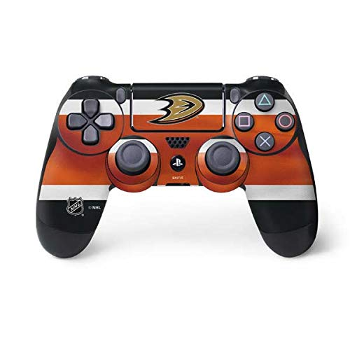 - Skinit Anaheim Ducks Jersey PS4 Controller Skin - Officially Licensed NHL Gaming Decal - Ultra Thin, Lightweight Vinyl Decal Protection