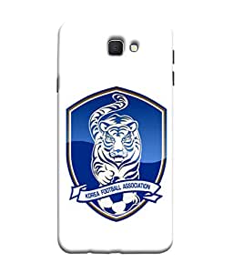 ColorKing Football South Korea 04 White shell case cover for Samsung J5 Prime