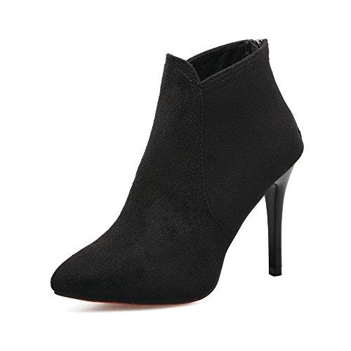 Voberry Stiefel, Damen Frühling Casual Casual Spitzschuh Schuhe mit Hohen Absätzen