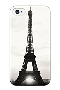 Oscar M. Gilbert's Shop Hot 8087025K91533631 Iphone 4/4s Case Cover - Slim Fit Tpu Protector Shock Absorbent Case (eiffel Tower)