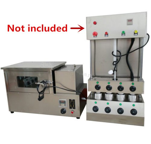 Commercial Automatic Rotational Pizza Oven for Pizza Cone Forming Machine 110V / 220V