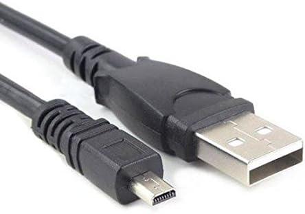 Cable USB BenQ AC 100 GH200 DC E800 DC C740 DC C800 AE200 Cable Data negro Cámaras y fotografía Accesorios cámaras/fotografía