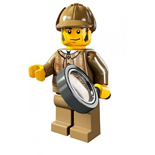 LEGO Minifigures Series 5 Detective COLLECTIBLE Figure major mystery solve magnifying glass (Detective Magnifying Glass)