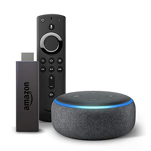 Fire TV Stick bundle with Echo Dot $64.98