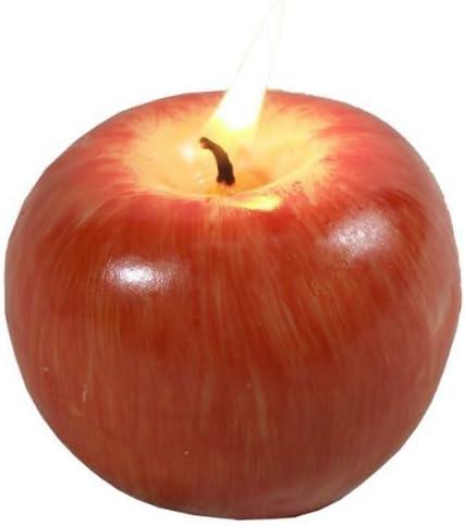 Amazon.com: Vela rojo Apple, boda cumpleaños Navidad Regalos ...