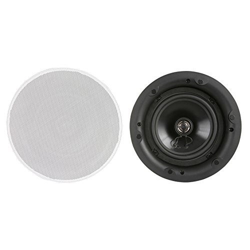 DLS IC621 2-Way 6.5'' 4 Ohm 90W Home Theater In Ceiling Hi-Fi Home Speaker (pair) by DLS Audio