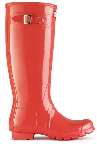 Tall Hunter Botas Naranja para Agua Original de Mujer Gloss Tq5SZf5