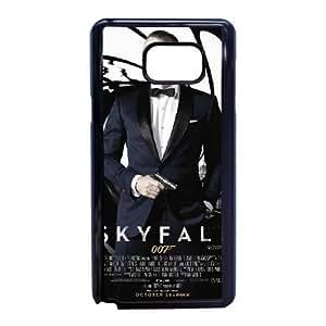 Samsung Galaxy Note 5 Phone case Black 007 James Bond ZAC1245183
