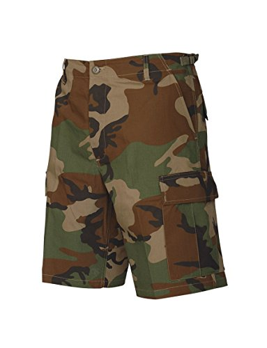 Tru-Spec Shorts, Tru Wdlnd 100% CTTN R/S with Zip Fly, Woodland, XX-Large ()