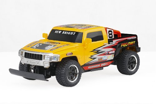 New Bright - 1:16 Radio Control Pro Dirt Hummer H3