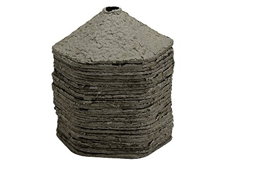 EcoStart Replacement Disks 30 Pack - EZ Start Charcoal Chimney System Eco-Friendly No Chemicals (Best Way To Light A Charcoal Chimney)