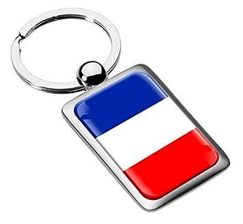 Llavero Francia France Bandera Metal Keyring Llave de Coche ...