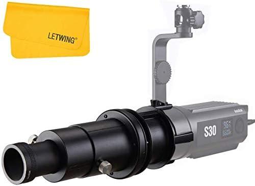Godox SA-P Propection Attachment with SA-01 85 mm Lens for S30 Focusing LED Light SA-P