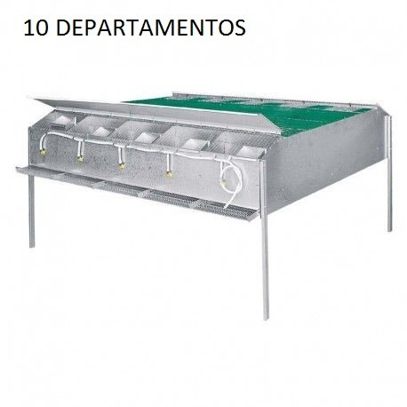 Jaula perdices cria 10 dptos.princ.: Amazon.es: Industria ...
