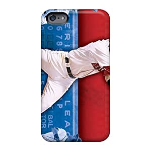 Shockproof Cell-phone Hard Covers For Apple Iphone 6s With Support Your Personal Customized Realistic Boston Red Sox Pattern EricHowe
