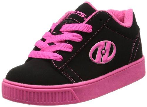 Heelys Straight Up Skate-Schuh (kleines Kind / großes Kind) Schwarz / Pink