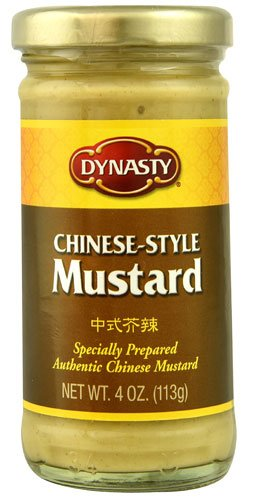 (Dynasty Extra Hot Mustard, 4-Ounce Jars (Pack of 12))