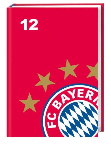 FC Bayern Schüleragenda A6 2012: 17-Monats-Kalender
