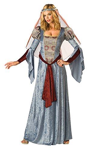 Adult-Costume Maid Marian Xl Halloween Costume - Adult Extra Large (Maid Marian Adult Costume)