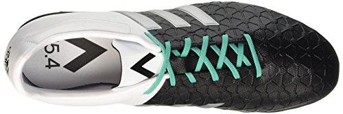 adidas Ace 15.4 Tf, Botas de Fútbol para Hombre Negro / Plateado / Blanco (Negbas / Plamat / Ftwbla)
