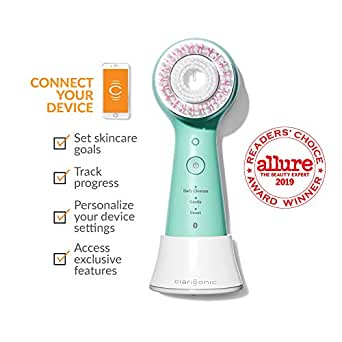 Clarisonic Mia Smart 3-In-1 Connected Sonic Beauty Device - Mint Green