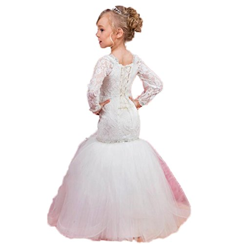 mermaid flower girl dresses - 7