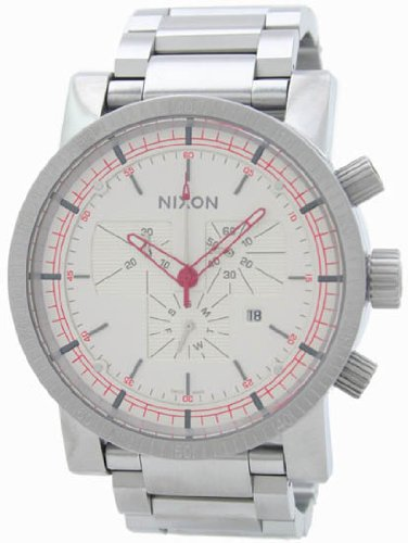 Nixon Men's 'Magnacon' Quartz Stainless Steel Watch(Model: A154199-00)