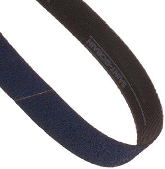 Grit 180 Norton BlueFire R823P Benchstand Abrasive Belt 1 Width Zirconia Alumina Pack of 5 Polyester Backing 42 Length Waterproof