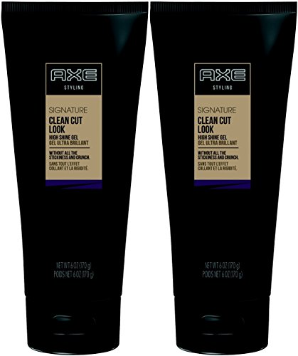 Hair Clean Cut (AXE Hair Styling Clean Cut Look, High Shine Gel, 6 Ounce (Pack of 2))