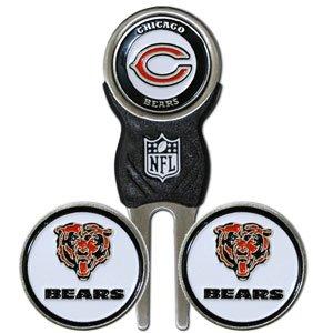 (NFL Chicago Bears NFL Divot Tool & Ball Marker Set)