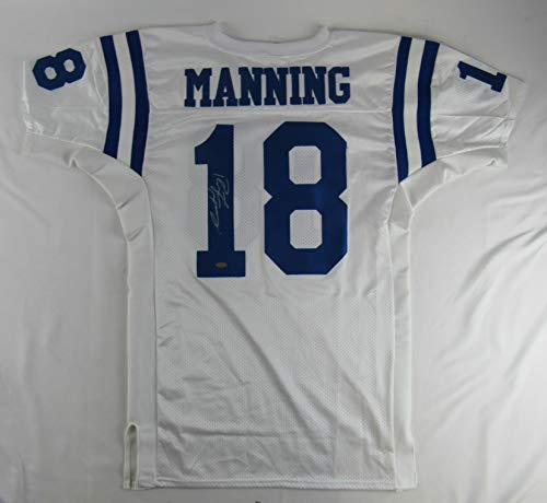 Peyton Manning Signed Auto Autograph Replica Colts Jersey Steiner Sports COA (Signed Peyton Manning Jersey)