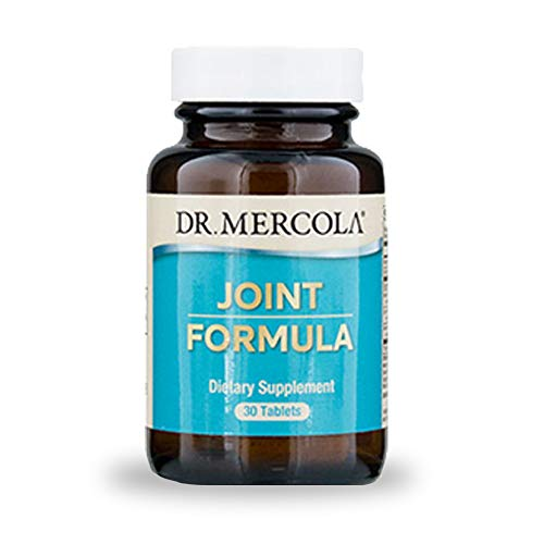 Dr. Mercola, Joint Formula with Eggshell Membrane and Hyaluronic Acid, 30 Servings (30 Tablets), non GMO, Soy-Free, Gluten Free