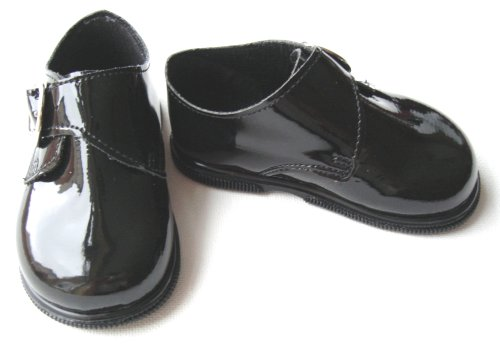 Chaussures bébé garçon Noir Patent–Taille 2(6/12mois)