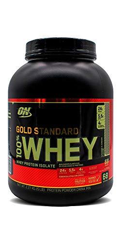 Optimum Nutrition Gold Standard 100% Whey Protein Powder, Cookies & Cream, 5 Pound