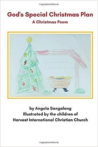 gods special christmas plan a christmas poem angela sangalang the children of harvest international christian church 9781979806046 amazoncom books