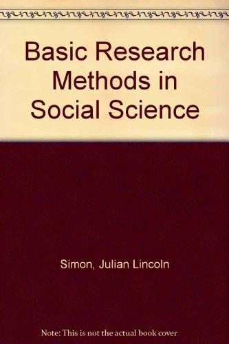 Basic Research Methods in Social Science