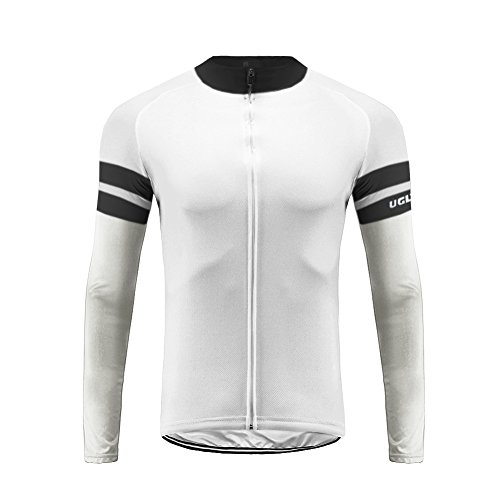 (Uglyfrog 2018 UG09 New Spring&Autumn Outdoor Sports Mens Classic Long Sleeve Cycling Jersey Bicycle Shirt Triathon Clothing)