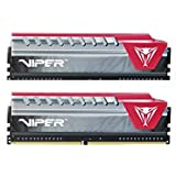 Viper Elite Series DDR4 16GB (2 x 8GB) 2400MHz Kit (Red) PVE416G240C5KRD