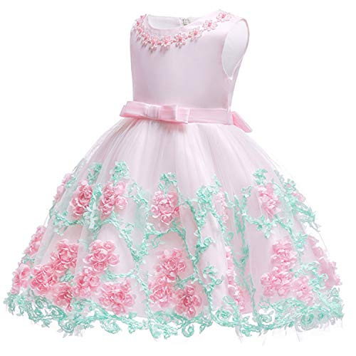 New Summer Infant Baby Girl Dress Lace White Baptism Dresses for Girls 1St Year Birthday Party Wedding Baby Clothing As picture7 6M]()