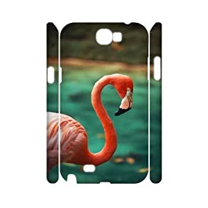 XOXOX Phone case Of Flamingos Cover Case For Samsung Galaxy Note 2 N7100 [Pattern-4]